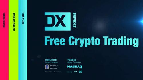 """NASDAQの技術を使った新しい暗号通貨取引所""""DX.exchange"""""""