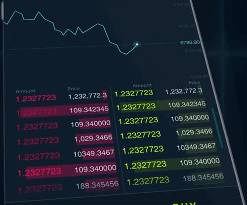 DX.exchangeのスマホ版インターフェイス